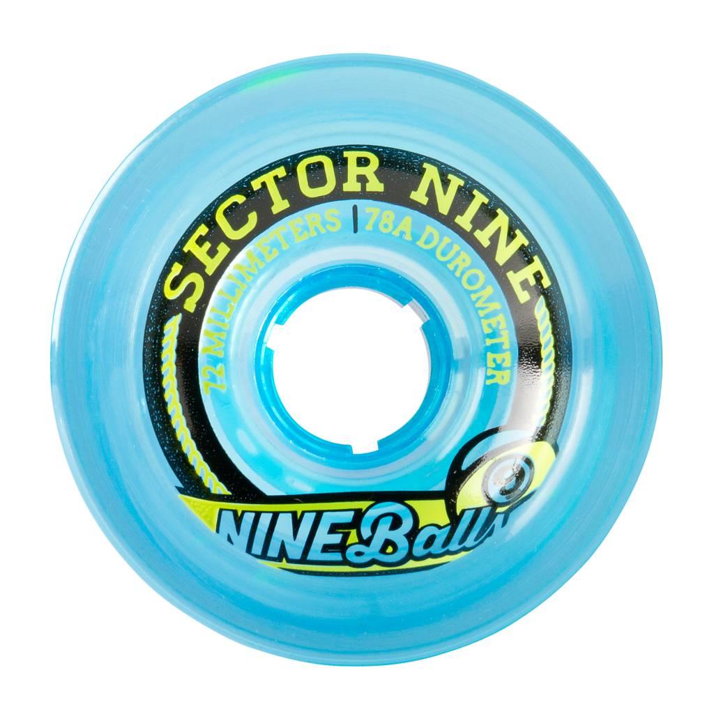 Sector 9 Sector 9 Nineballs 72mm 75a  Wheels (set of 4)