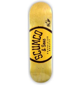 Scumco & Sons Scumco & Sons Logo (C Medium) Deck - 8.5