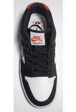 Nike sb Air Force II Low - Black/Black-White-Habanero Red