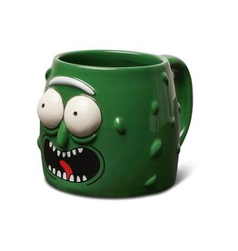 Primitive Primitive x Rick and Morty Pickle Rick Mug - Green