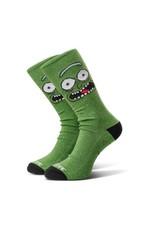 Primitive Primitive x Rick and Morty Pickle Rick Socks - Green