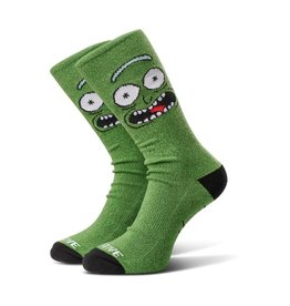 Primitive Primitive x Rick and Morty Pickle Rick Socks - Green