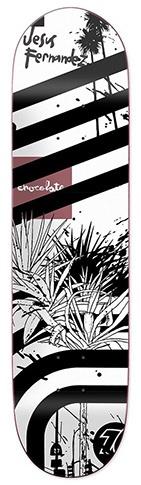 Chocolate Chocolate Fernandez Hecox Deck - 8.25x 31.175 (G027)
