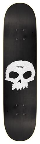 Zero Zero Single Skull Pearlescent Deck - 8.5 x 32