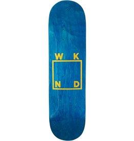 WKND brand WKND Glitter Logo Blue Veneer Deck - 8.25