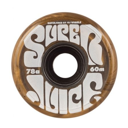 OJ wheels OJ 60mm Super Juice Gold 78a wheels (set of 4)