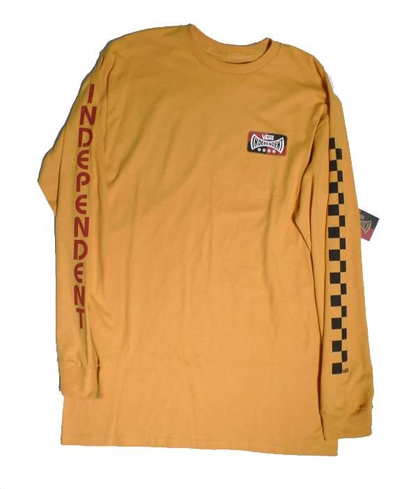 Vans Vans x Independent Long Sleeve T-shirt - Sunflower