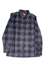 Vans Vans x Independent ZIp Up Flannel - Asphalt (Medium)