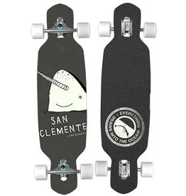 San Clemente San Clemente Everything Drains Gnarwhal Complete - 9 x 35