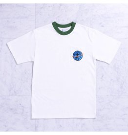 Quasi Quasi World Peace Pocket T-shirt - Forest