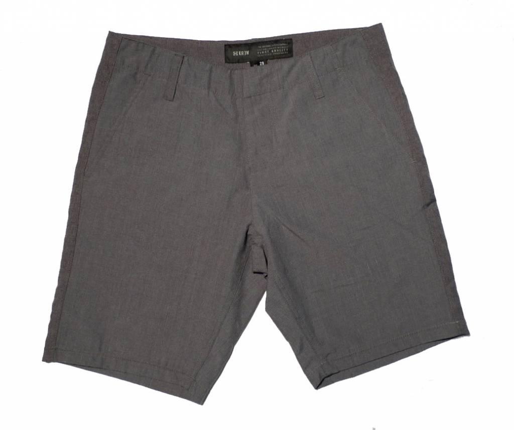 Krew Krew Delivery Shorts - Heather Grey (size 28)