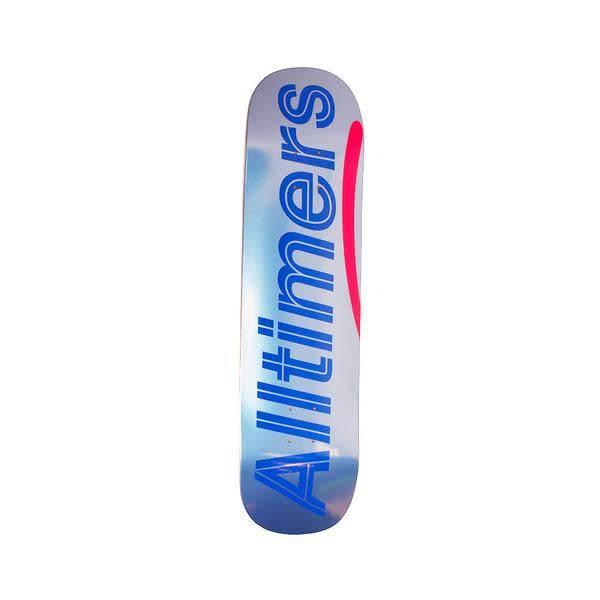 Alltimers Alltimers Shiny Blues Logo Deck - 8.5