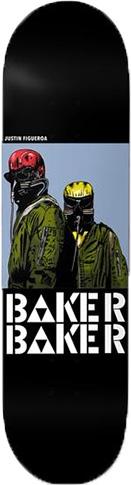Baker Baker Figueroa Never Reissue Deck - 8.0