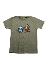 Toy Machine Foundation Whippersnappers T-shirt - Olive Heather