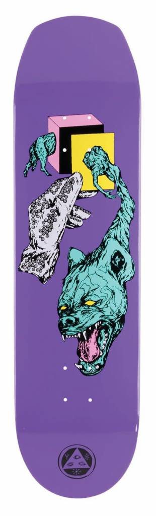 Welcome Welcome Face of a Lover on Helm of Awe 2.0 Purple Deck - 8.38 x 32.38