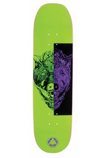 Welcome Welcome Hog Wild on Moontrimmer 2.0 Neon Green Deck - 8.5 x 32.6