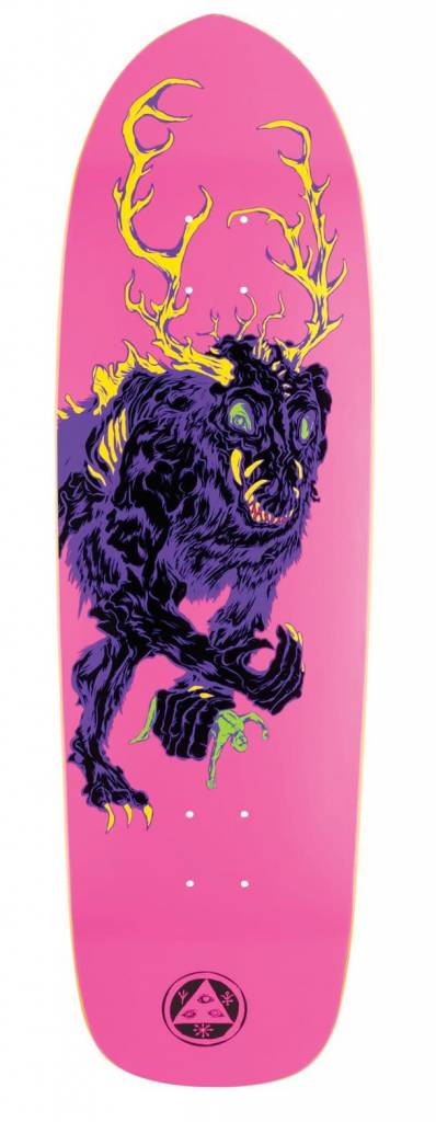 Welcome Welcome Wenigo on Magic Bullet Neon Pink Deck - 9.5