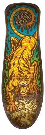 Santa Cruz Santa Cruz Salba Tiger Reissue  Deck - 10.3 x 31.1