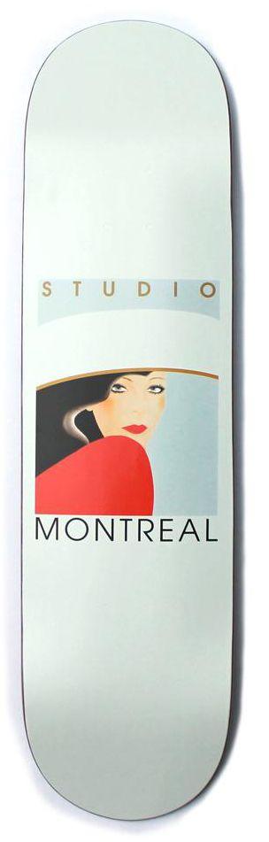 Studio Studio Lady in Red Deck - 8.125 x 31.87