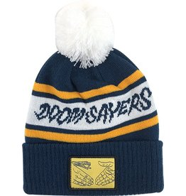 Doom Sayers Doom Sayers DSC Pom Beanie - Navy/White/Yellow