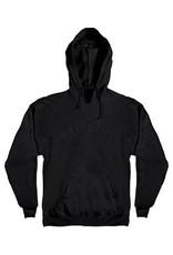 Spitfire Spitfire Old E  Emroidered hoodie - Black/Black