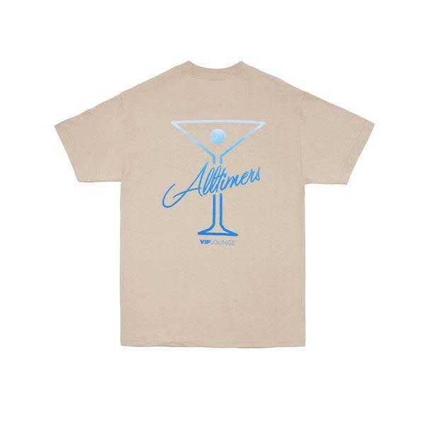 Alltimers Alltimers Puff Classic Logo T-shirt - Sand