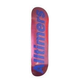 Alltimers Alltimers Shiny Pinks Logo Deck - 8.5