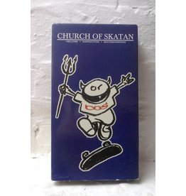 Church of Skatan - Hellfire. Damnation. Skateboarding.  (1995) VHS - (Preowned)