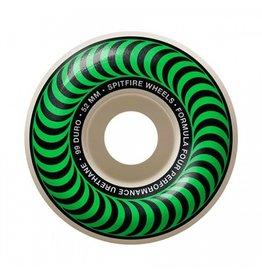 Spitfire Spitfire Formula Four Classic Green 52mm 99d wheels (set of 4)