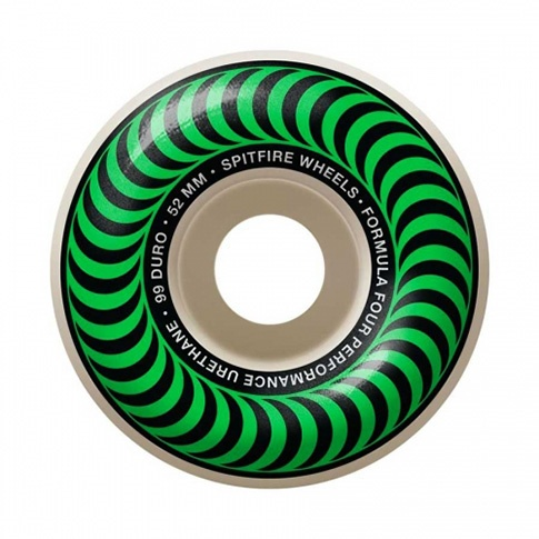 Spitfire Spitfire Formula Four Classic Green 52mm 99d wheels (set of 4)
