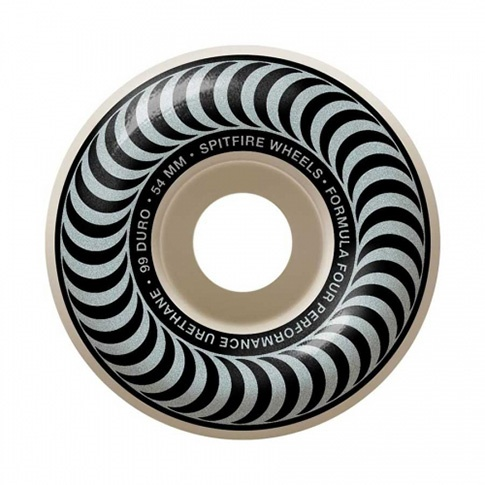 Spitfire Spitfire Formula Four Classic Silver 54mm 99d wheels (set of 4)