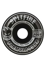 Spitfire Spitfire Formula Four Conical Full Blackout Silver 53mm 99d wheels (set of 4)