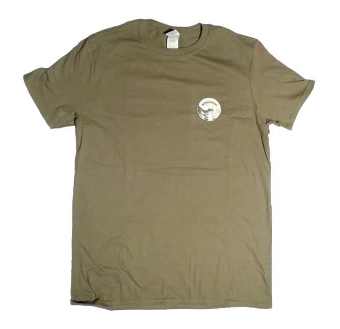 Loophole Wheels Loophole Logo T-shirt - Military Green