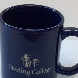 Mug, 11 oz., Blue with Cooper Logo
