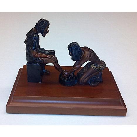 Divine Servant Sculpture, 9 in x 12 in x 8 in