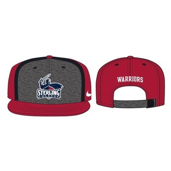 Nike Sideline True Player's Cap, Crimson & Charcoal
