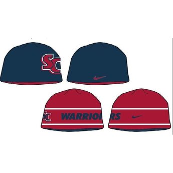 Nike Reversible Knit Hat, Navy Blue/Cardinal Red