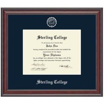 Diploma Frame, Embossed