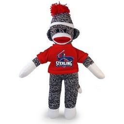 Sock Monkey w/ Red SC Tee, 8 in