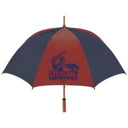 Umbrella, Storm Duds, Red & Navy, 62 in