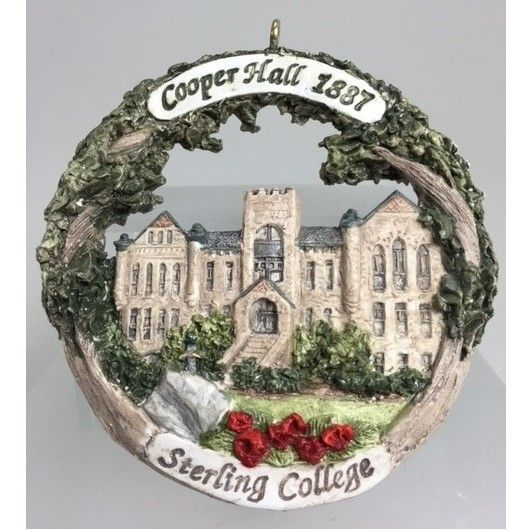Sterling College Cooper Hall Ornament