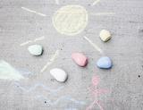 Kikkerland Rock Chalk, Set of 5