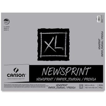 Canson XL Newsprint Pad, 18X24