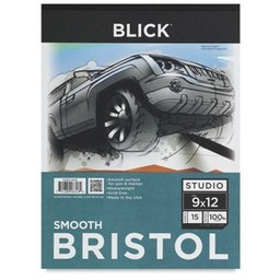 """AR131 Blick Bristol Pad, 15 Sheets, Smooth 14"""" × 17"""""""
