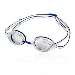 Speedo Vanquisher 2.0 Goggle, White & Navy
