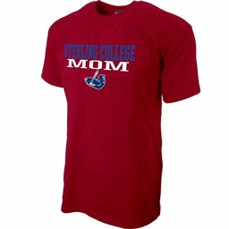 Blue 84 Mom SS Mill Dyed Tee, Cardinal
