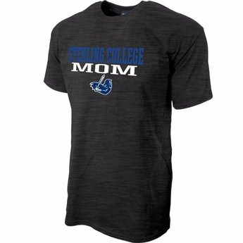 Blue 84 Mom SS Mill Dyed Tee, Dark Heather