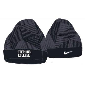 Nike Swoosh Pattern Beanie, Black