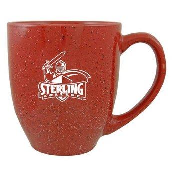 Speckled Bistro Mug, Cardinal
