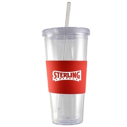 LXG 24 oz. Acrylic Tumbler, Red